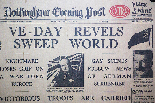 Nottingham Evening Post May 8, 1945